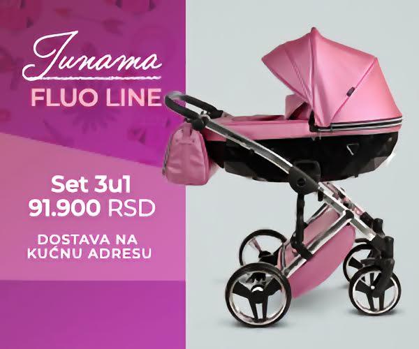 Junama FLUO LINE kolica za bebe
